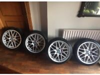 BMW 18 Inch CSL Alloys 1 2 3 4 Series Fitment 8Jx18 ET38 All Round