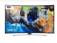 "49"" Curved SAMSUNG Smart 4K Ultra HD HDR LED TV UE49MU6200 warranty and delivered"