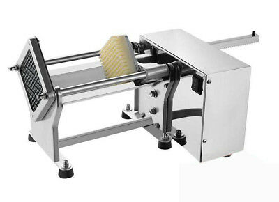 110v Electric French Fries Chip Cutter Potato Chips Slicer With 61013mm Blade