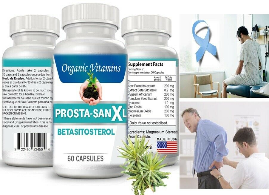 #1 Pastillas Medicamentos Naturales Para La Prostata.Inflamada Capsulas 120 caps 1