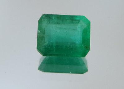 1.31 carat COLOMBIA NATURAL TRANSPARENT EMERALD ESMERALDA GEMAS VVS