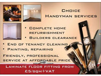 Handyman service in Cambridge, friendly, professional.