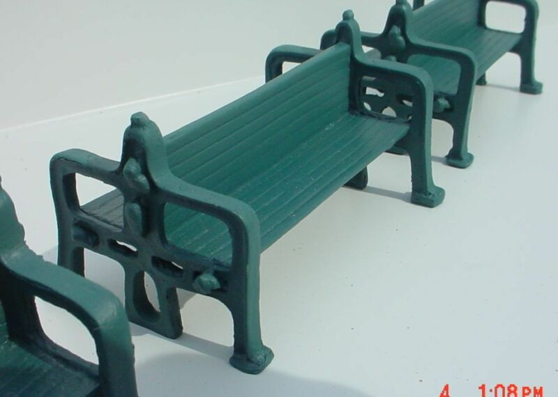 Rickety Old Station / Platform Bench Miniature 1/24 Scale G Scale Diorama Item
