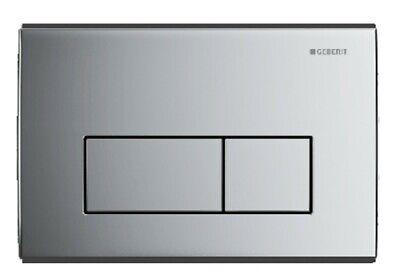 Geberit KAPPA50 Dual Flush Plate Gloss Chrome Kappa 50