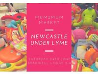 Mum2Mum Market Newcastle under Lyme nearly new baby sale