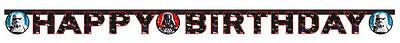 Star Wars Happy Birthday Girlande Banner Kette Dekoration Partydeko Dekoration ()