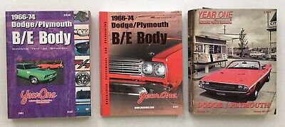 Year One 1966 - 74 and Summer 1997 Dodge Plymouth Parts & Accessories Catalogs