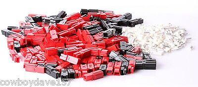 Anderson Powerpole 45 Amp Kit 50 Pairs Power Pole 1345 1345g6 Red Black Sermos