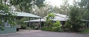2.4ha Tranquil bush property, est 4 b/r home, sheds & resort pool McMinns Lagoon Litchfield Area Preview