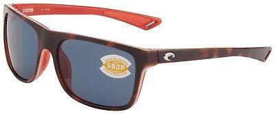 Costa Del Mar Remora Sunglasses REM-133-OGP Tortoise 580P Grey Polarized Lens