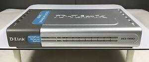 D-Link DES-1008D 8-Port 10/100 Fast Ethernet Switch Fairfield West Fairfield Area Preview