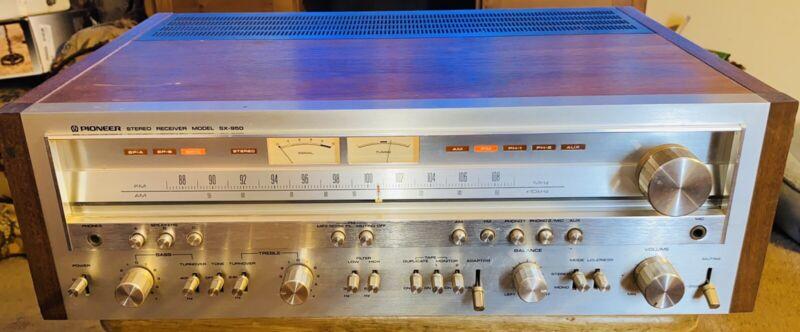 VINTAGE PIONEER SX-950 Receiver Very Nice Working
