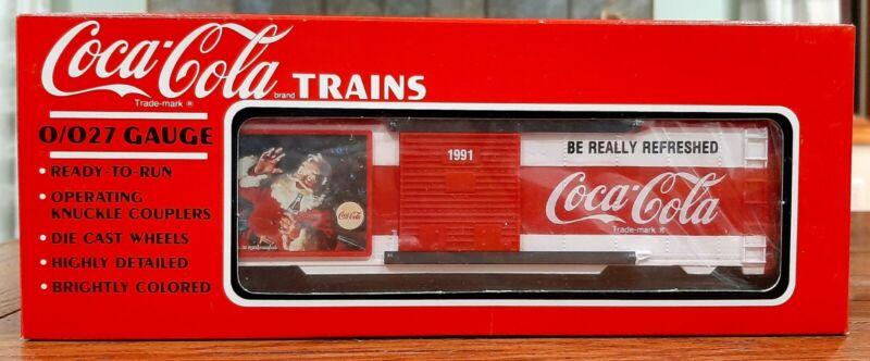 Coca-Cola Boxcar Christmas Train. 1991.