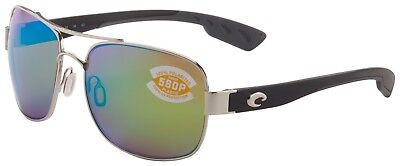 Costa Del Mar Cocos Sunglasses CC-21-OGMP Palladium 580P Green Mirror (Costa Del Mar Cocos)