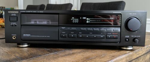 Kenwood KX-5530 cassette deck - CCRS and Auto Bias - Made in Japan