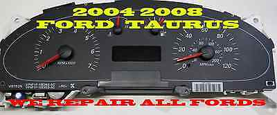 2004 2007 MERCURY SABLE, FORD TAURUS CLUSTER SOFTWARE & ODOMETER CALIBRATION