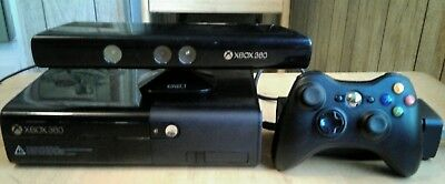 Micros Xbox 360 E  4Gb System Console + Kinect + Power Cord/1 Wireless controler, used for sale  Bullhead City