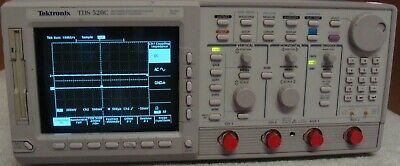 Tektronix Tds 520c 500 Mhz Digitizing Oscilloscope W Opts Nist Calibrated