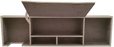 Desk Organizer Caddy Gray By Spruce Storage 1099124741 New