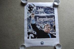 "FS: 1994 ""John Candy Remembered"" Toronto Argonauts Litho Sheet"