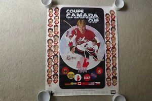 "FS: ""1984 Canada Cup"" Promotional Sheet London Ontario image 1"