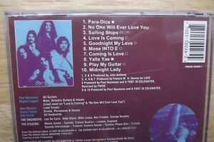 """FS: 1983 """"A Foot In Cold Water"""" 2-CD Set London Ontario image 3"""
