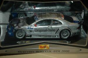 Maisto Mercedes Benz CLK DTM #18 Diecast 1/18