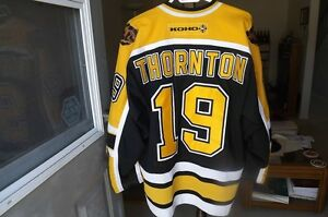 FS: Joe Thornton (Boston Bruins) CCM / Koho 3rd Jersey London Ontario image 2