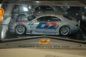 1/18 Maisto CLK DTM 2000 Schneider Race Car