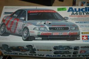 Tamiya TL01 Audi A4 (Bonus TA03 Chasis and Tamiya body)