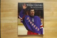 "FS: 1999 Sun Media Wayne Gretzky ""The Great Goodbye"" Book"