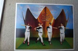 """FS: Baseball's """"Triple Crown Winners"""" Lithograph Sheet"""