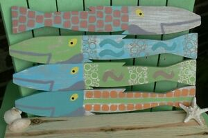 Picket Fence fish - hand painted -- each one unique Sarnia Sarnia Area image 4