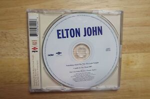 """FS: Elton John """"Candle In The Wind 1997"""" 3-Track Commemorative C London Ontario image 2"""