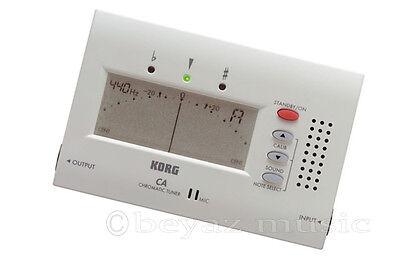 Korg CA-40, Chromatisches Stimmgerät, geeignet für Gitarre, Saz,Baglama,cura,Oud