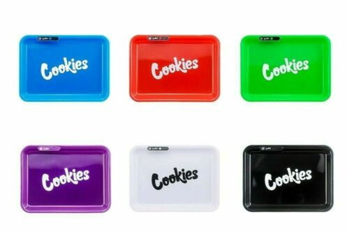 LED  6 COLORS ROLLING GLOW TRAY -11X 8 INCH- GIFT BOX INCLUDED
