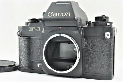 Near MINT CANON New F-1 AE Finder 35mm SLR Film Camera Body from Japan #4463