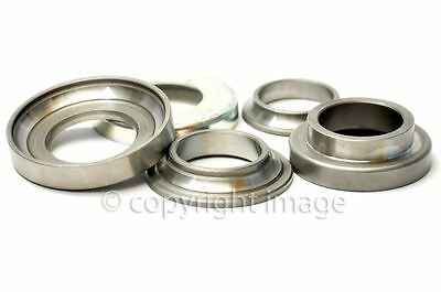STEERING HEAD BEARING SET RIGID TRIUMPH 5T 6T T100 97 0437 97 0111  97