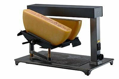 "Raclette-Ofen TTM Swiss "" SUPER "" Block-Raclettegerät  für 2 halbe Laib Käse"