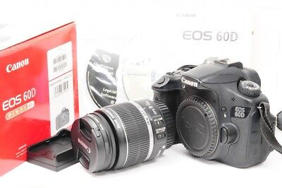 [EXC] Canon EOS 60D 18.0MP Digital SLR Camera/Lens from Japan [1260601689]
