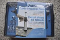 cookie and decorating press