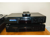 Sony Minidisc Recorder JE440 with Sony CD Player XE370