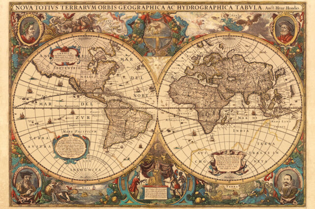 Antique World Map 5000 Piece Ravensburger Jigsaw Puzzle