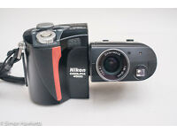 Nikon Coolpix 4500 4MP Digital Camera Camcorder 360 degree 4x Optical Zoom Rare