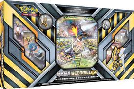Pokemon TCG Mega Beedrill EX Premium Collection Box: Booster Packs +Promo Cards