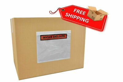 Invoiced Enclosed Packing List Envelope Receipt Slips Clear Poly Pouches