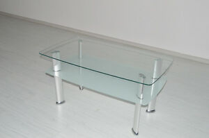 Clearance Special Brand New Tempered Glass Coffee Table Clayton Monash Area Preview