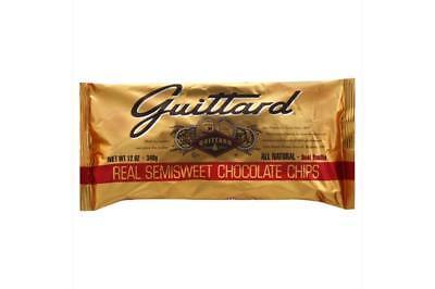 Guittard Chocolate Bars-Semi Sweet Chocolate Chips (12-12 oz bags) - Guittard Semi Sweet