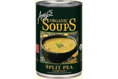 Canned Pea Soup - Amy's-Organic Split Pea Soup (12-14.1 oz cans)