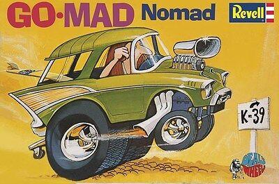 Revell Monogram 4310 Dave Deal's Go-Mad Nomad 57 Chevy Model Kit 1/25